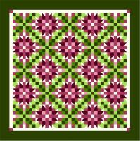 Wild Irish Rose Quilt Pattern TTQ-101
