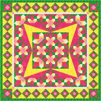 Dogtooth Delight Quilt Pattern TTQ-104