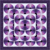 Purple Craze Quilt Pattern TTQ-109