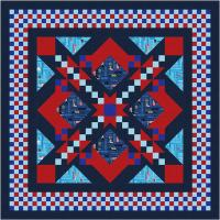 All-American Heroes Quilt Pattern TTQ-114