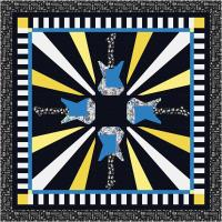 Guitar Hero Quilt Pattern TTQ-116