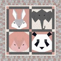 Fuzzy Friends Quilt Pattern TTQ-135