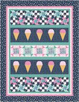 Ice Cream Churn Quilt Pattern TTQ-137