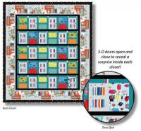 Monsters in the Closet Quilt Pattern TWW-0136Re