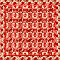Rose Red Quilt Pattern TWW-0307e