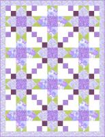 Blooming Violets Quilt Pattern TWW-0374
