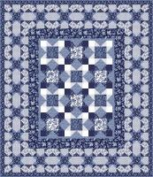 Peaceful Paisley Quilt Pattern TWW-0438Re