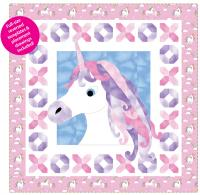 Unicorn Kisses -Throw Quilt Pattern TWW-0477