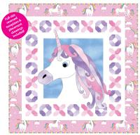 Unicorn Kisses -Wall Hanging Quilt Pattern TWW-0477W