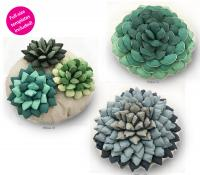 Succulent Garden Pillows Pattern TWW-0511