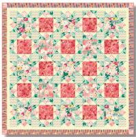 Blooming Lattice Quilt Pattern TWW-0548e