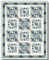 Pebbles in the Sand Quilt Pattern TWW-0551e