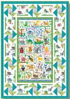 Animal ABC's Quilt Pattern TWW-0554e