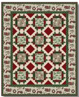 Vintage Holiday Quilt Pattern TWW-0609e