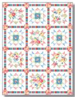 Cottage Rose Quilt Pattern TWW-0617e