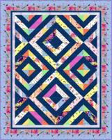 Full Bloom Quilt Pattern TWW-0632e