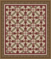 Chocolate Covered Cherries Quilt Pattern TWW-0642e