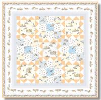 Snow Bunnies Quilt Pattern TWW-0655e