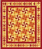 Sizzling Sunset Quilt Pattern UCQ-P38e