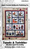 Tweets & Twinkles BOM - Borders & Assembly Quilt Pattern UCQ-P5510