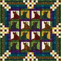 Kitty, Kitty Quilt Pattern YF-122