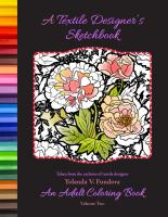 A Textile Designer's Sketchbook - Volume Two YF-902