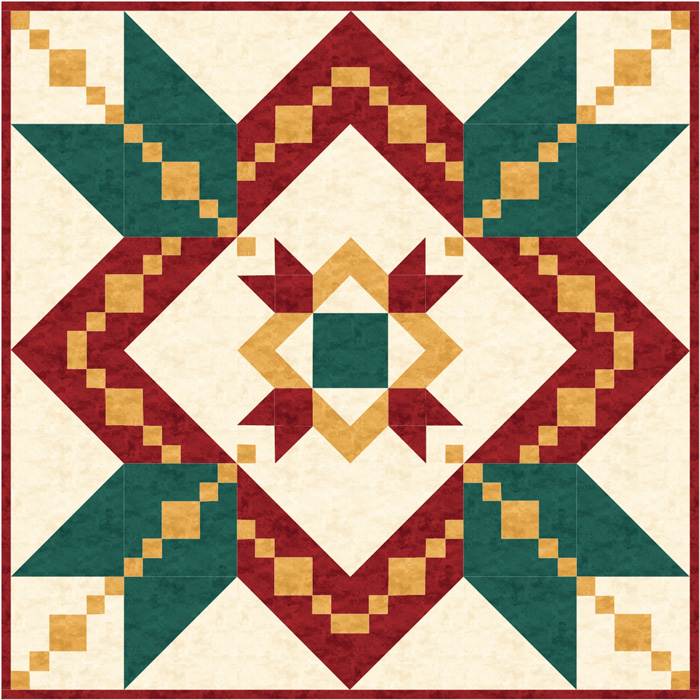 Christmas quilt and wall hanging pattern trq