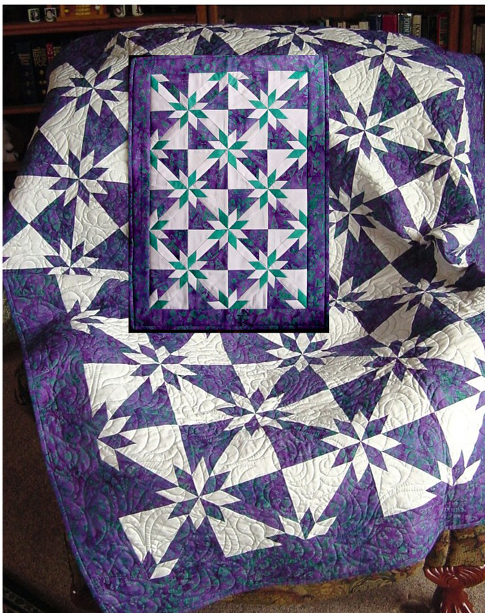 Hunter S Star Quilt Pattern Yhq 100 Advanced Beginner